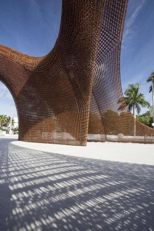 Бамбуковые скульптуры Майами на 3D-принтере