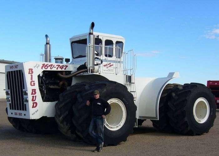 10 самых больших тракторов в мире, которые могут справиться с самой тяжёлой работой