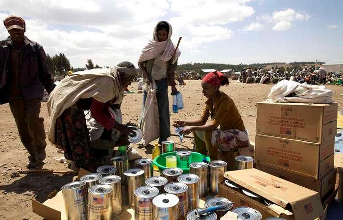 Засуха в Эфиопии