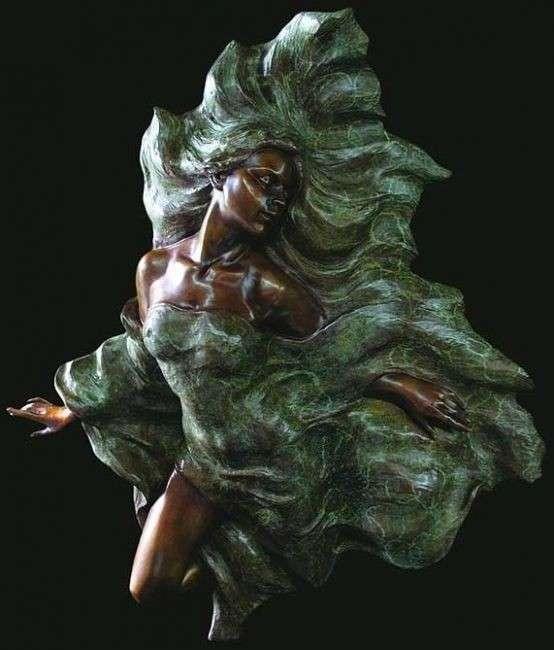 Работы Гейлорда Хо (Ho Gaylord) - японского скульптора