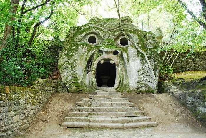 Священный лес или Сад чудовищ