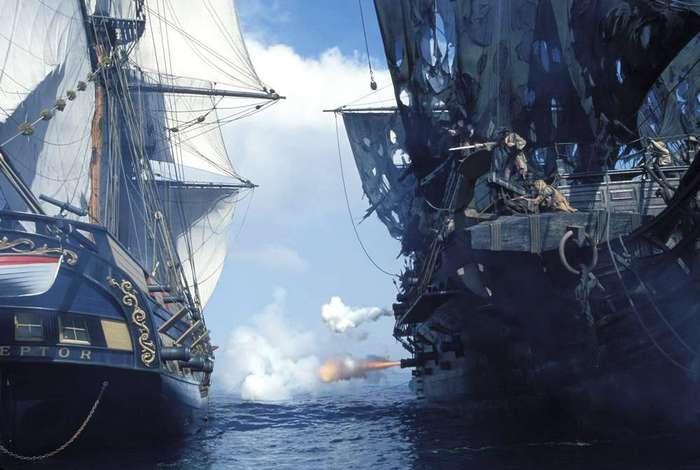 "Мифы о пиратах: ""Пушка! Они заряжают пушку!"""