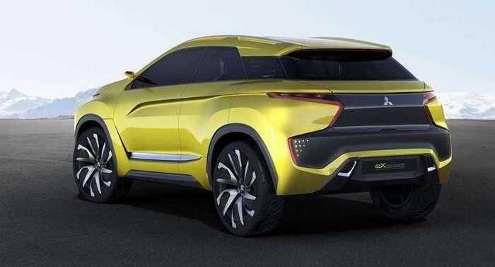 Mitsubishi eX Concept: кроссовер с электроприводом и автопилотом
