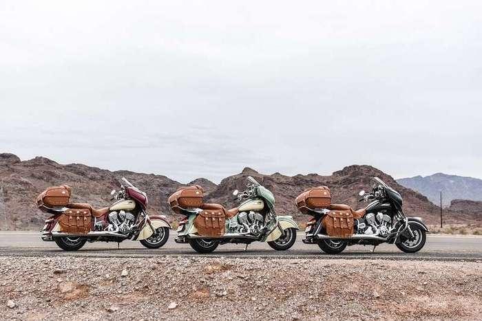 Новые модели мотоциклов Indian 2017 ГОДА
