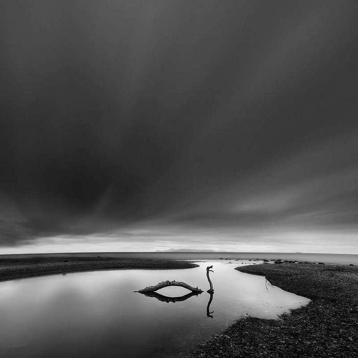 Чёрно-белые пейзажи Джорджа Дигалакиса