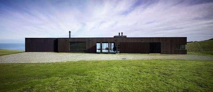 Частный дом возле пляжа в Новой Зеландии