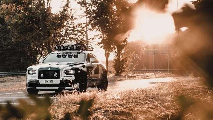 Лыжник построил Rolls-Royce для отжига