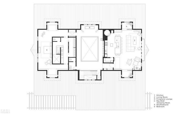 Дом-отель в стиле Барнхаус в Вашингтоне