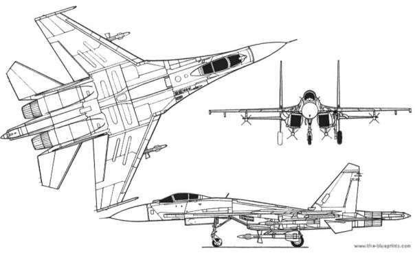 40 лет со дня первого полета истребителя Су-27