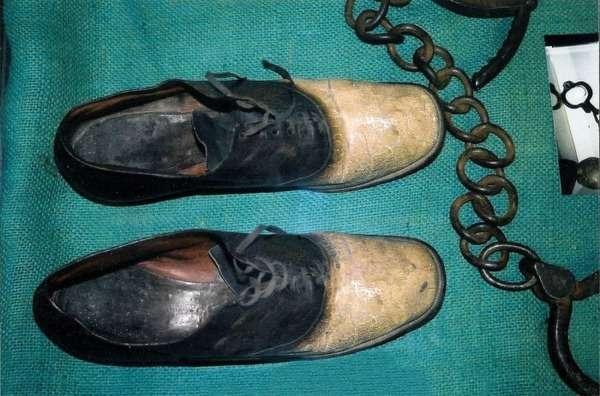 Грабитель Джордж Пэррот - человек, который стал парой ботинок