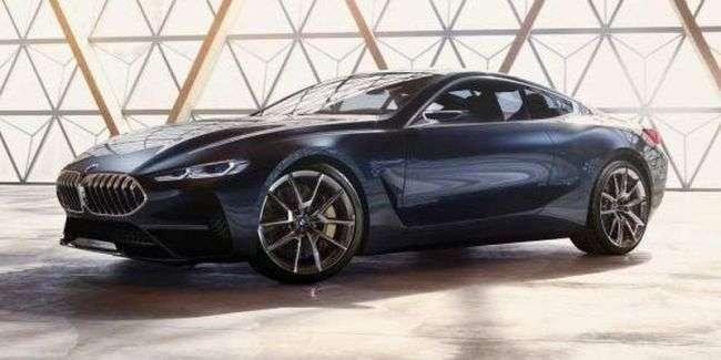 Рассекречен дизайн нового купе BMW