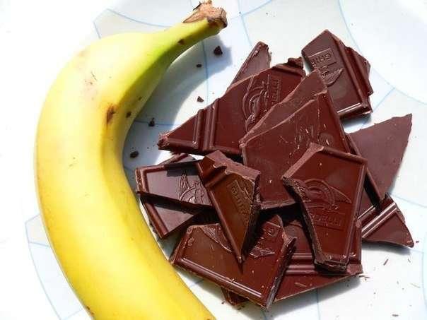 Учёные: Бананы и шоколад могут заменить секс
