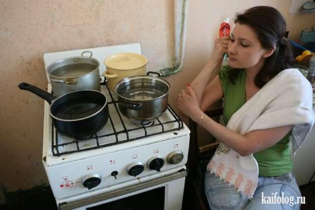 Приколы про отключение горячей воды
