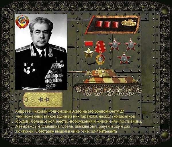 Советские танковые асы Великой Отечественной войны.