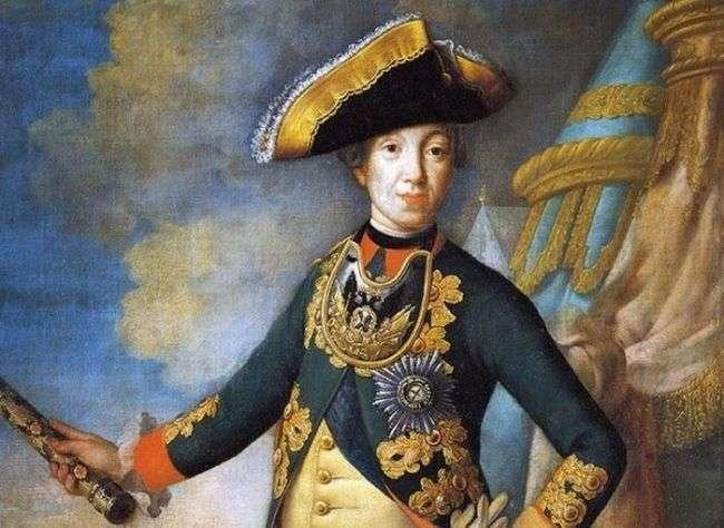 Почему император Петр III был коронован через 34 года после смерти