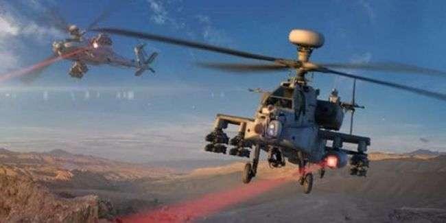 Проведены первые стрельбы из высокоэнергетического лазера на боевом вертолете