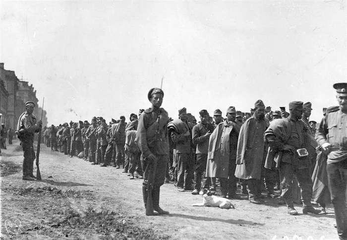 1917 год. Последнее наступление русских армий...