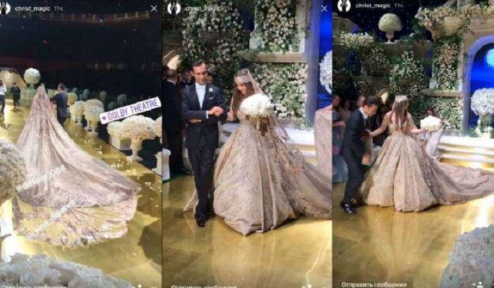 В Голливуде отгремела роскошная свадьба детей российских олигархов