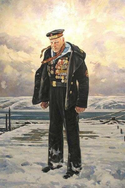 -НЕПОКОРЕННЫЙ-— моряк, всю войну прошагавший по земле.