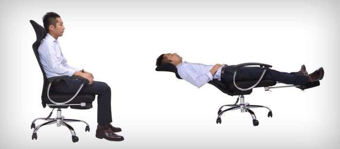 Кресло для рабочего стола, в котором можно хорошенько отдохнуть
