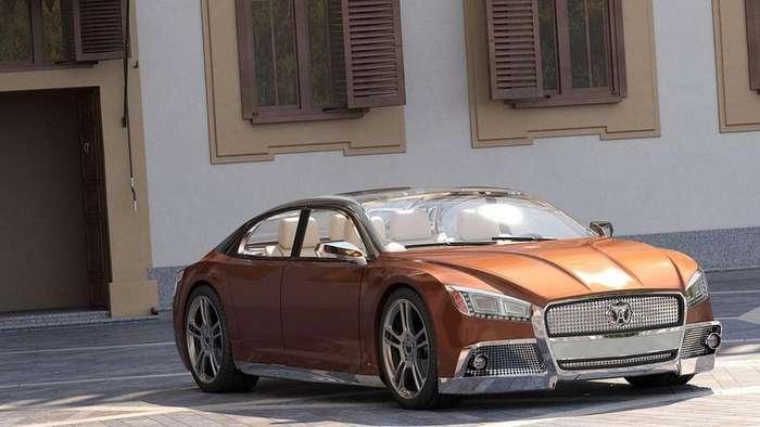 Volga-2020 Concept от дизайнера из Казани