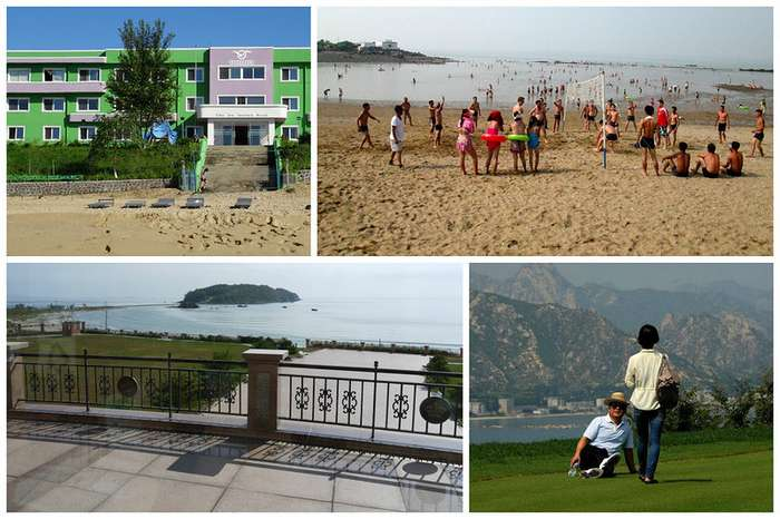 Курорты Северной Кореи ждут своих посетителей