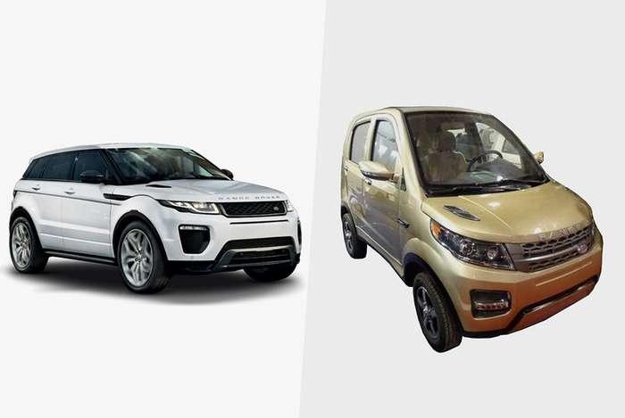 Китайские копии популярных европейских автомобилей