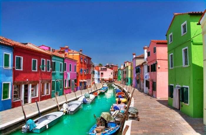 Бурано – самый яркий район Венеции