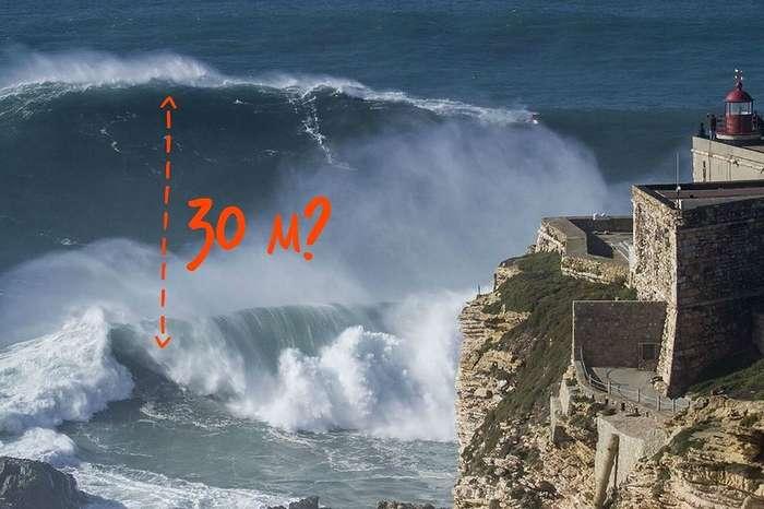 Почему в Назаре самые большие волны в мире?