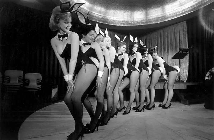 Взгляд назад на Playboy Bunny Girls