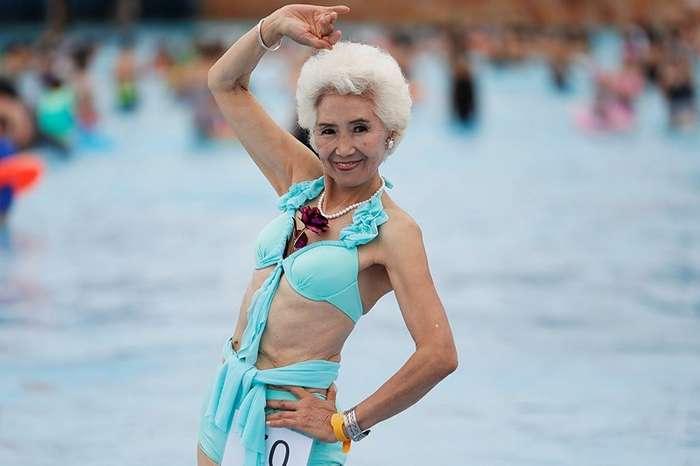 Грандбикини: конкурс красоты для бабушек в Китае