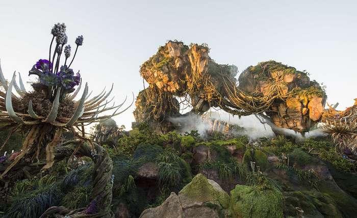 Тематический парк Pandora World of Avatar land в Disney World