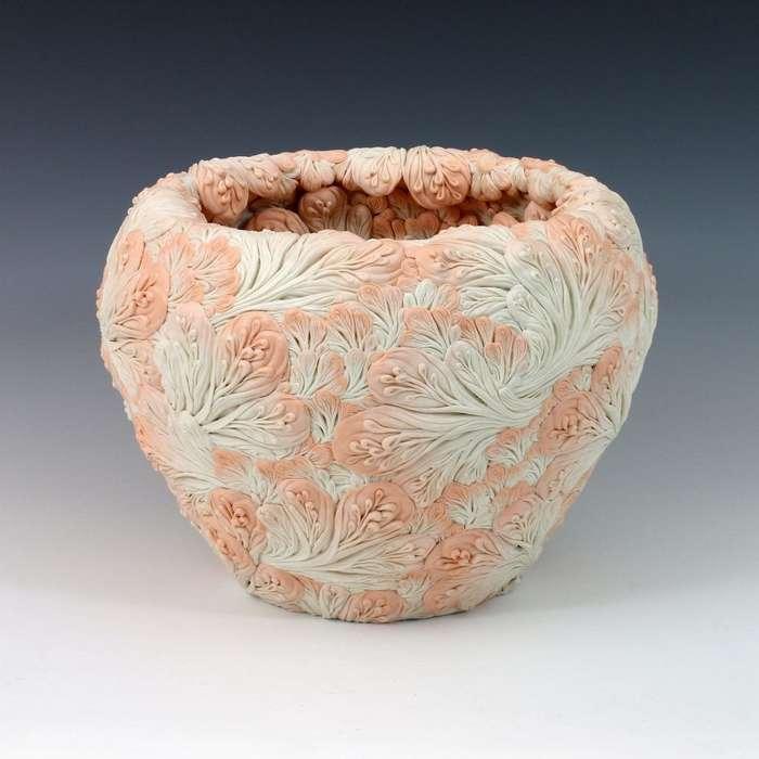 Керамические цветы Hitomi Hosono