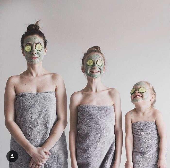 Продолжение истории невероятно креативной мамы и ее дочерей. До чего же клевые!