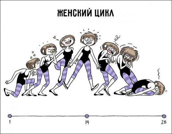 Мужской юмор о женщинах в серии неимоверно смешных диаграмм, графиков и картинок
