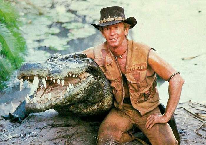 История настоящего -Крокодила Данди-