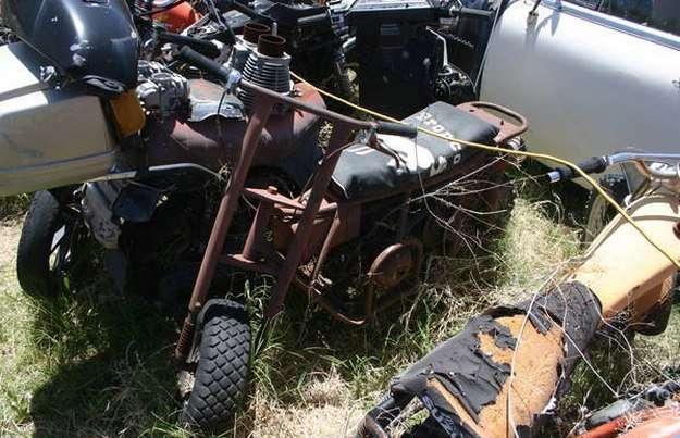 Кладбище мотоциклов в США