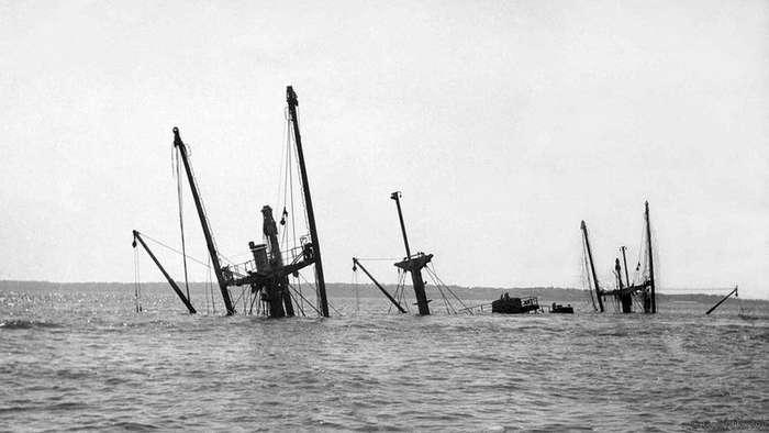 SS Ричард Монтгомери: бомбы Темзы