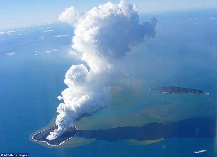 Самые молодые острова на Земле