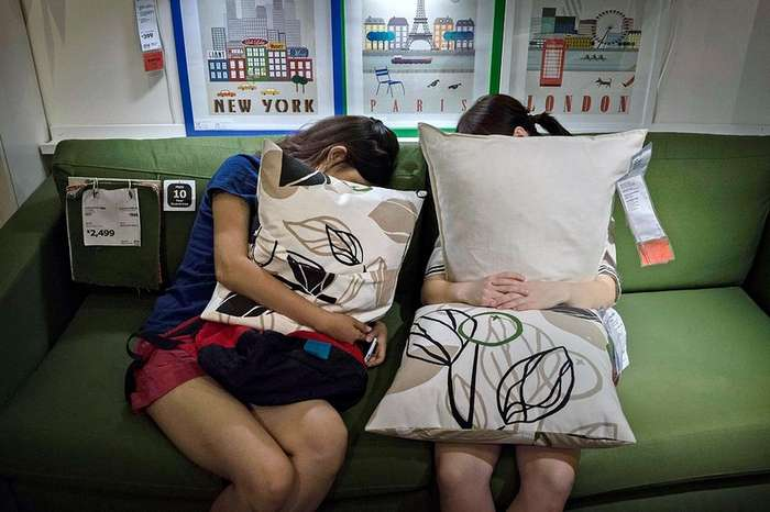 Что делают китайцы в ИКЕА?