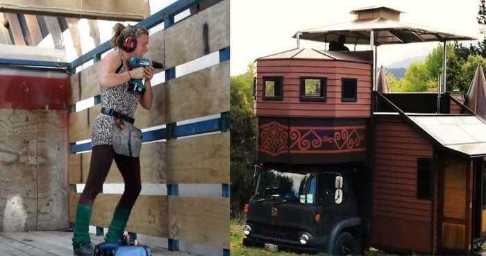 Они своими руками превратили старый грузовичок в персональный дворец!