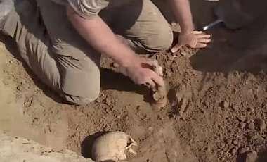 Возле Днепра археологи нашли -скифскую амазонку-