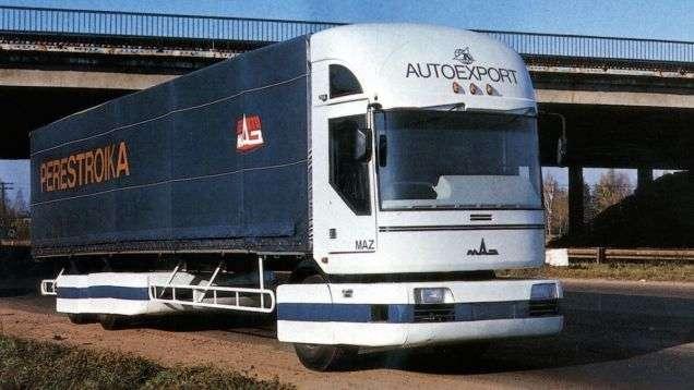 МАЗ-2000 -Перестройка-, 1988 год