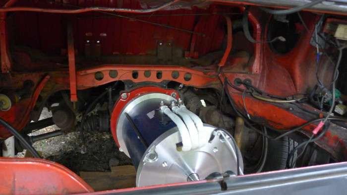 Фургон-электрокар, который можно сделать своими руками и не нужно заряжать