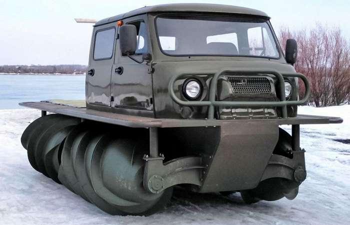 Советскому снегоболотоходу дали второй шанс
