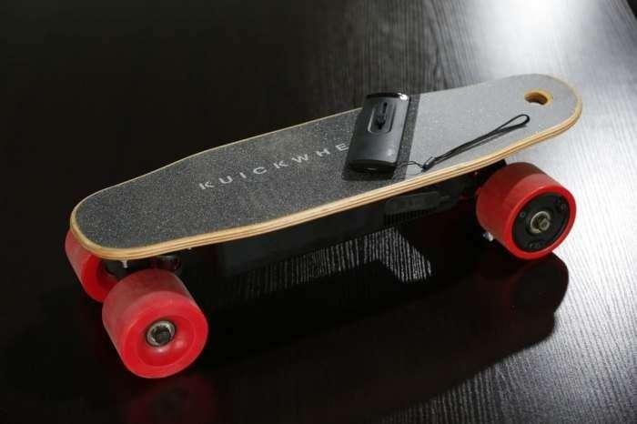 Kuickwheel Serpent-C — самый маленький в мире скейт с пультом управления