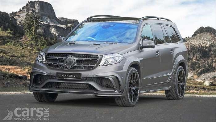 Mansory -брутализировал- внедорожник Mercedes-Benz
