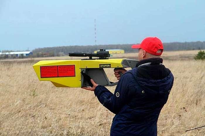 Министерство обороны России показало противодроновую пушку -Ступор-