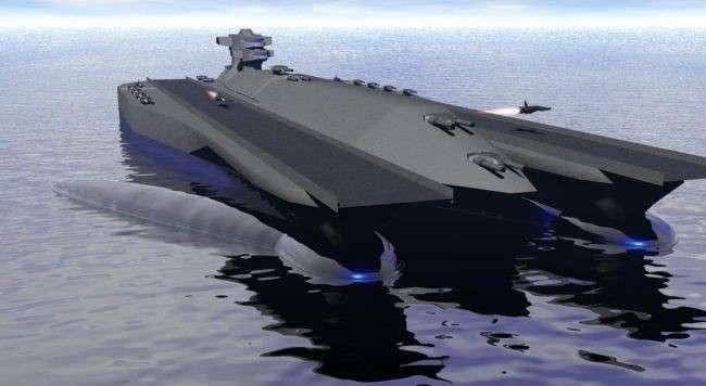 -Полное электродвижение-: концепция боевых кораблей будущего