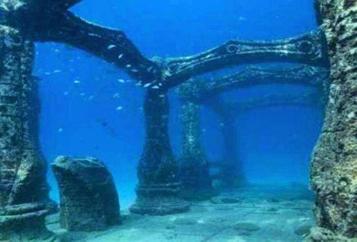Удивительные подводные города